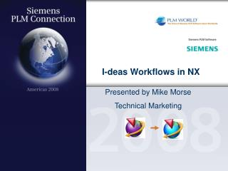 I-deas Workflows in NX