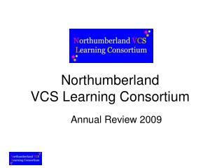Northumberland  VCS Learning Consortium