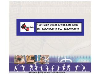 1601 Main Street, Elwood, IN 46036 Ph: 765-557-7216 Fax: 765-557-7223