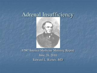 Adrenal Insufficiency