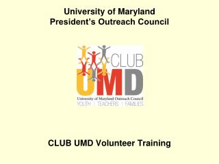 University of Maryland President's Outreach Council