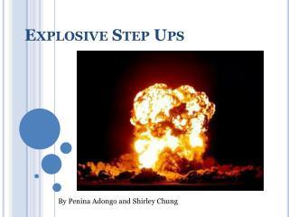 Explosive Step Ups