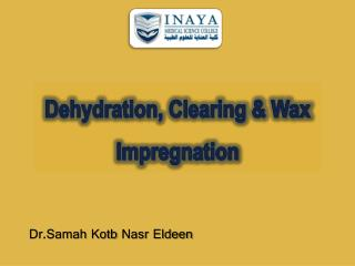 Dehydration, Clearing & Wax Impregnation