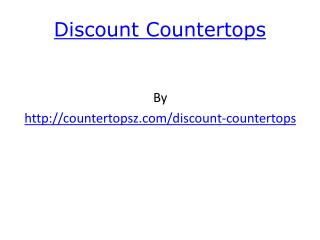 discount countertops