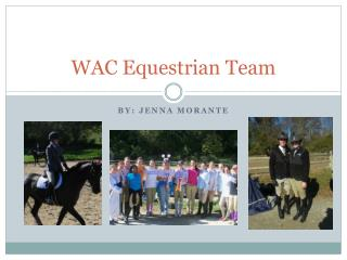 WAC Equestrian Team