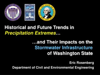 …and Their Impacts on the  Stormwater Infrastructure  of Washington State