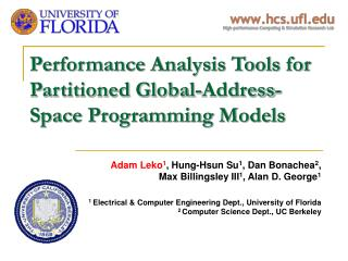 Performance Analysis Tools for Partitioned Global-Address-Space Programming Models