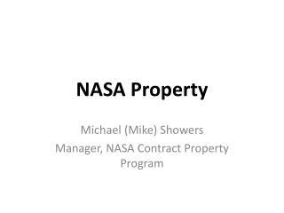 NASA Property