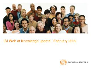 ISI Web of Knowledge update:  February 2009