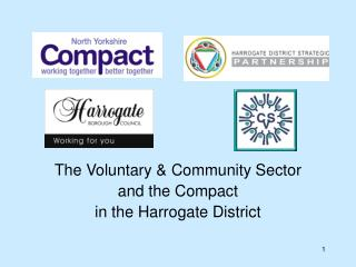 The Voluntary & Community Sector  and the Compact in the Harrogate District