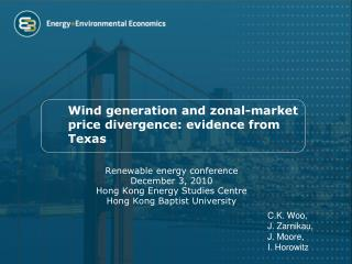 Wind generation and zonal-market price divergence: evidence from Texas