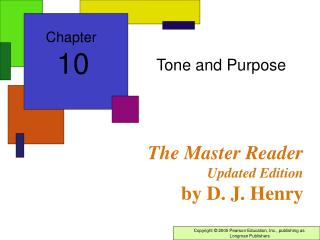 The Master Reader Updated Edition by D. J. Henry