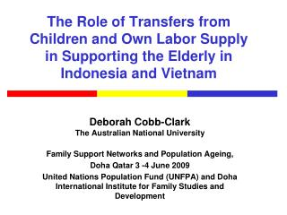 Deborah Cobb-Clark The Australian National University