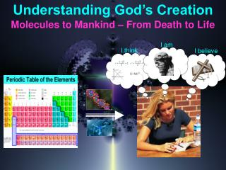 Understanding God's Creation Molecules to Mankind – From Death to Life