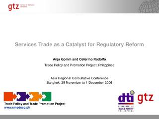 Services Trade as a Catalyst for Regulatory Reform