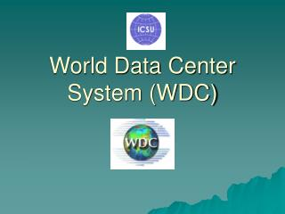 World Data Center System (WDC)