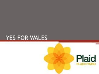 YES FOR WALES