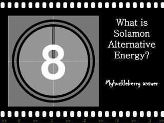 What is Solamon Alternative Energy?