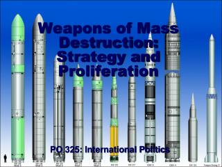 Weapons of Mass Destruction: Strategy and Proliferation
