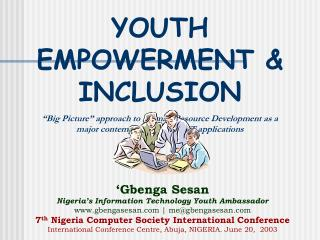 YOUTH EMPOWERMENT & INCLUSION