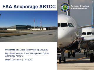 FAA Anchorage ARTCC