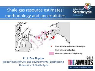 Shale gas resource estimates: methodology and uncertainties