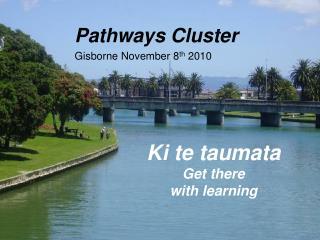Pathways Cluster Gisborne  November 8 th  2010