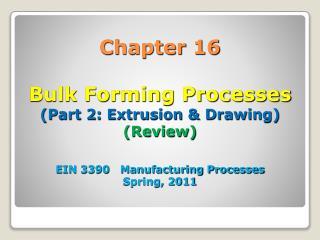 16.6 Extrusion