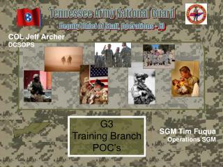 G3 Training Branch