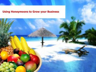 Using Honeymoons to Grow your Business