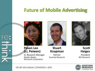 Future of Mobile Advertising