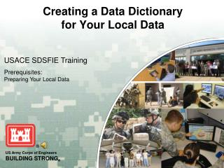 Creating a Data Dictionary  for Your Local Data