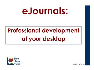 eJournals: