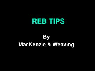 REB TIPS