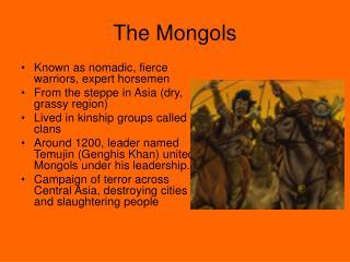 The Mongols