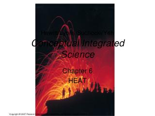 Hewitt/Lyons/Suchocki/Yeh Conceptual Integrated Science