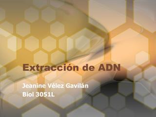 Extracci n de ADN