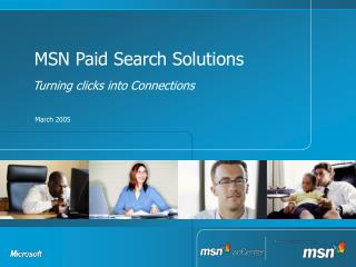 MSN Paid Search Solutions