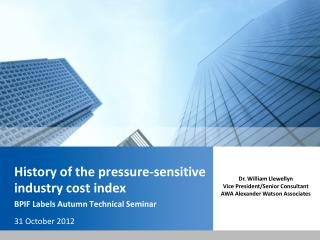History of the pressure-sensitive industry cost index