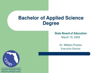 Bachelor of Applied Science Degree