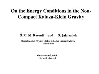 On the Energy Conditions in the Non-Compact Kaluza-Klein Gravity