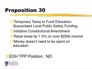Proposition 30