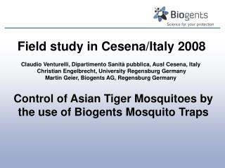 Field study in Cesena