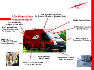 AAH Pharma Van Product Integrity