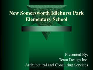 New Somersworth Idlehurst Park Elementary School