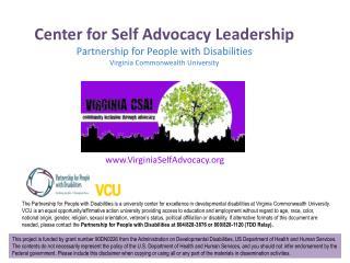 VirginiaSelfAdvocacy
