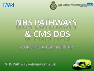 NHSPathways@wmas.nhs.uk