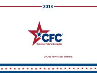 UPO & Keyworker Training