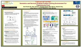 Proposed Research Problem Solving Environment for  T.  cruzi