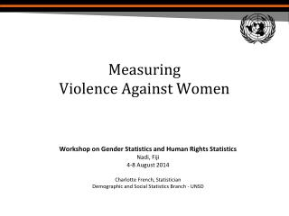 Measuring  Violence Against Women